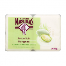 Le Petit Marseillais Sweet Almond Bar Soap (2x100g)