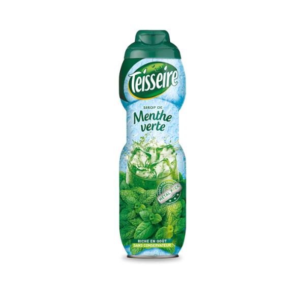 Teisseire Green Mint Syrup (Sirop De Menthe Verte) 750ml