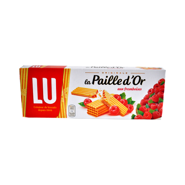 LU Paille D'Or Raspberry Wafers 170g -product image