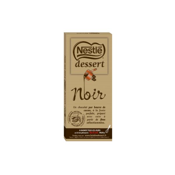 Nestle Dessert Dark Cooking Chocolate 205g -product image