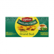 (ARRIVING END FEBRUARY 2020) Lipton Grand Sud Infusion Mint and Licorice (25 bags)