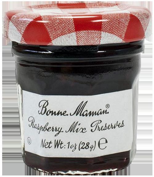 Mini Jars Bonne Maman Raspberry Mix Preserves 30g France At Home