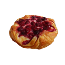 Raspberry Danish (Pick up from VIC Markets only)