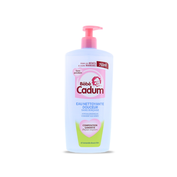 Bebe Cadum Hair And Body Wash For Baby Maxi Format 750ml - Available at: France At Home www.franceathome.com.au