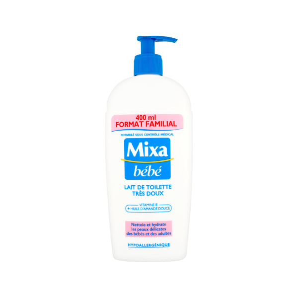 Mixa Bebe Cleanser 400ml product image