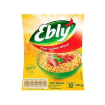 (ARRIVING END OF JANUARY 20) Ebly Pure Durum Wheat 10min 500g