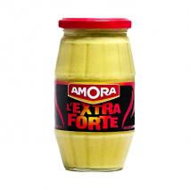(COMING LATE 2020) Amora Extra Strong Mustard 440g