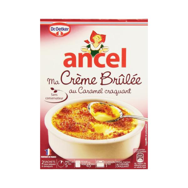 Ancel Creme Brulee (2 sachets) 200g