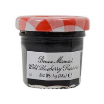 60 x Mini Jars – Bonne Maman Wild Blueberry Preserves 30g