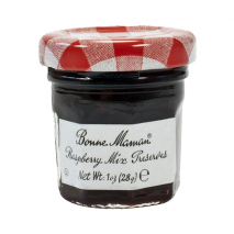 15x Mini Jars – Bonne Maman Raspberry Mix Preserves 30g