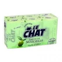 Le Chat Olive Oil Bar Soap 6x100g