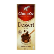 Cote D'Or Noir Dessert (Cooking Chocolate) 200g