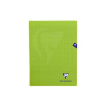 Clairefontaine Notebook 24x32cm 48 pages (Grand Carreaux, Couleurs Variees)