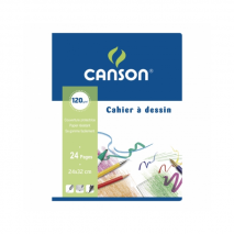 Canson Drawing Notebook 24x32cm 24 pages
