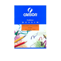 Canson Drawing Notebook 17x22cm 16 pages