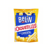 (COMING LATE DECEMBER 2020) Belin Croustilles Emmental Cheese Flavour 88g