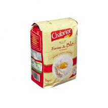 (ARRIVING END FEBRUARY 2020) Chabrior Flour Type T45 1Kg