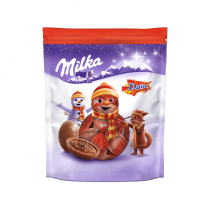 2 x Milka Christmas Daim Chocolate 86g (Melted)