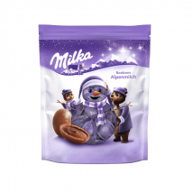 2 x Milka Christmas Milk Chocolate 86g (Melted)