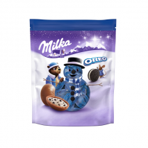 2 x Milka Christmas Oreo Chocolate 86g (Melted)