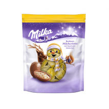2 x Milka Christmas Hazelnut Chocolate 86g (Melted)