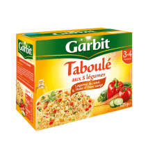 (ARRIVING END OF JANUARY 20) Garbit Taboule 5 Vegetables 525g