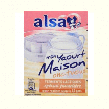 (COMING MID AUGUST 2020) Alsa Starter Culture Yaourt Onctueux Maison 8g (up to 32 serves)