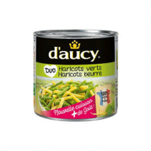 (COMING MID AUGUST 2020) D'Aucy Duo Beans 300g
