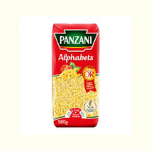 (COMING MID AUGUST 2020) Panzani Alphabet Pasta 500g