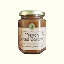 French Salted Caramel with Sel De Guerande 200ml
