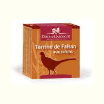 Ducs De Gascogne Pheasant Terrine With Grapes 65g