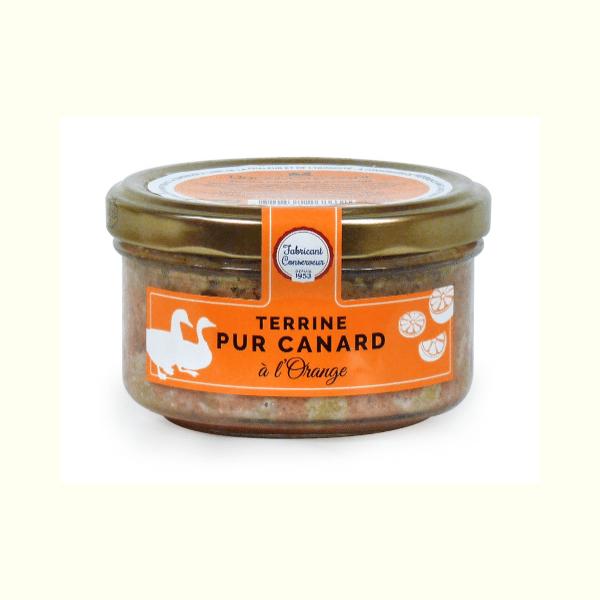 Ducs De Gascogne Pure Duck Terrine with Orange 130g