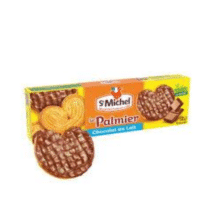 St Michel Chocolate Palmiers 125g