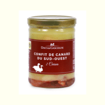 Ducs De Gascogne Duck Confit from South West of France (2 Legs) 750g