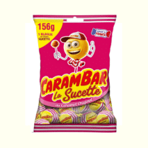 Carambar Caramel Lollipops 156g
