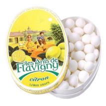 Les Anis de Flavigny Oval Tin Lemon 50g
