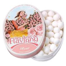 Les Anis de Flavigny Oval Tin Rose 50g