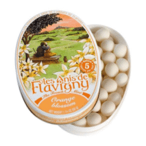 Les Anis de Flavigny Oval Tin Orange Blossom 50g