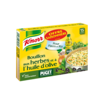Knorr Olive Oil and Herbs Cube Stock (15 tabs)