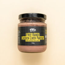 Free Range Chicken Liver Parfait with Mulled Wine Jelly 150g (Refrigerated)